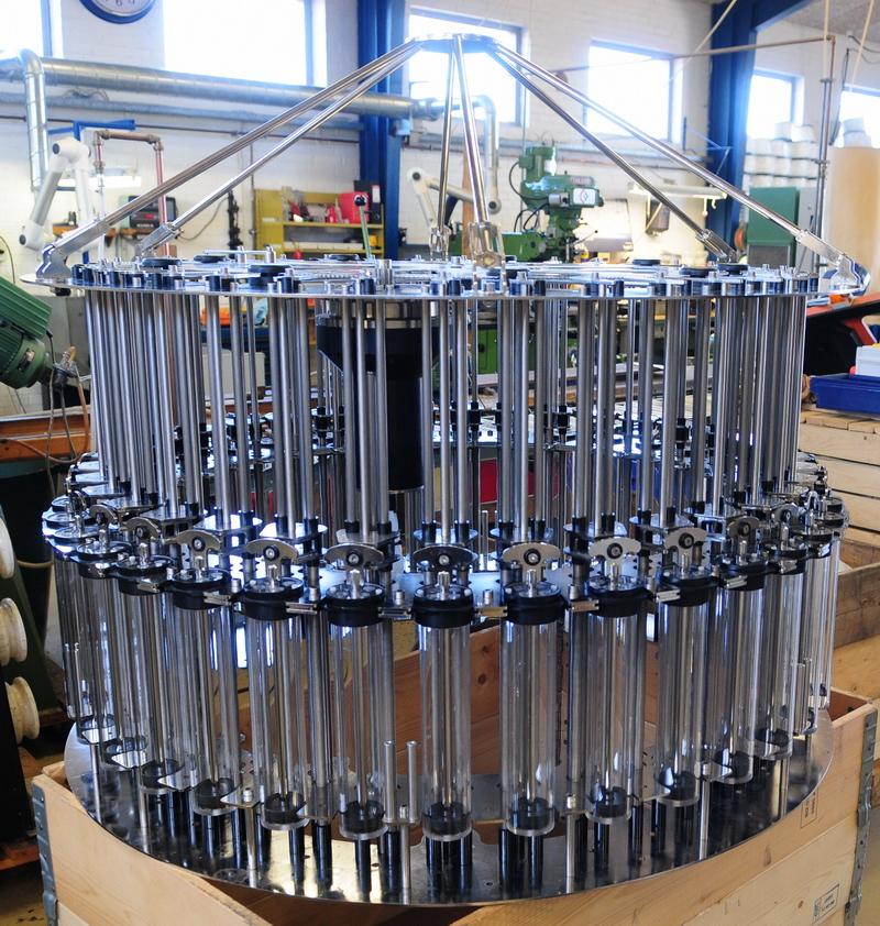 Small Multi Water Sampler 36 pcs  Syringes 500ml, KC Denmark